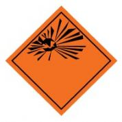 Hazard safety sign - Explosive Symbol 030